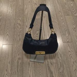Beautiful dark blue shoulder bag by Coach 🍀
